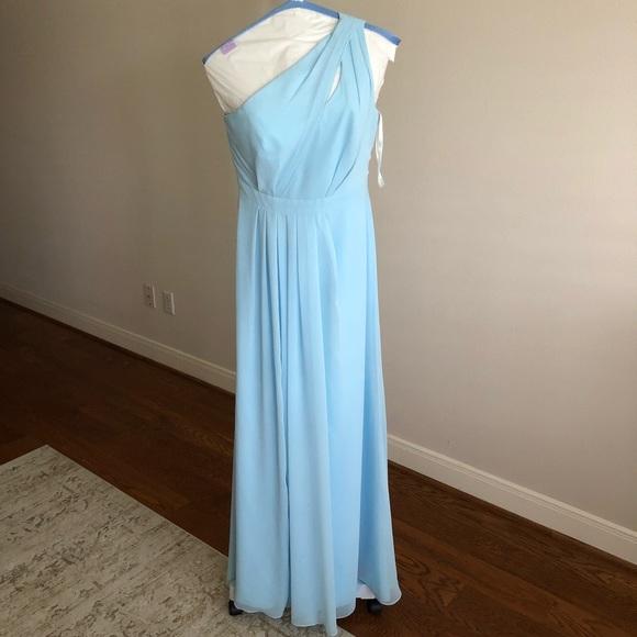 dee43bc5c9d David s Bridal Dresses   Skirts - David s Bridal 1-Shoulder BMaid Dress  F18055 Capri